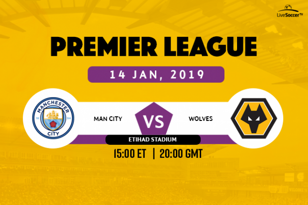 Manchester City vs Wolves broadcast information