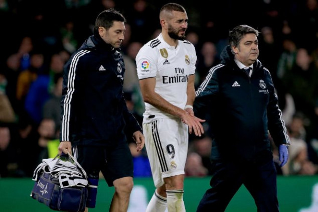 Real Madrid suffers to fresh injury blows