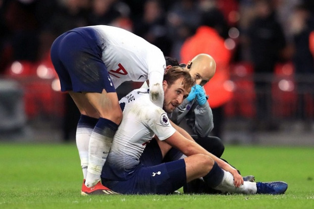 Kane ruled out due to ankle injury