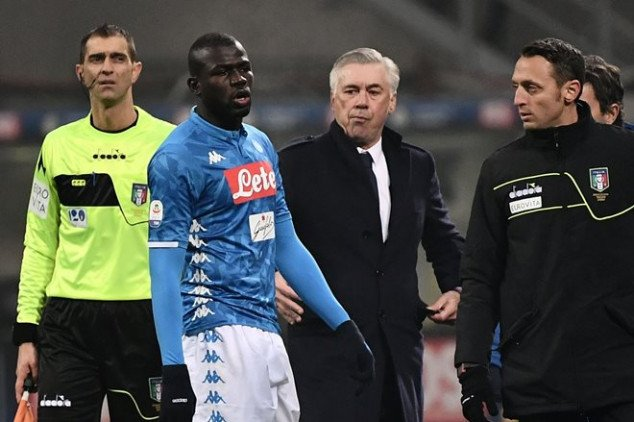 Ancelotti rubbishes Koulibaly's exit rumors