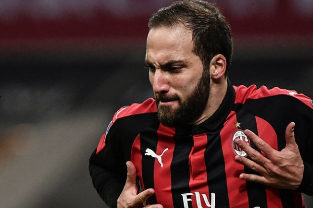 Higuan joins Chelsea after 6-month stay at Milan
