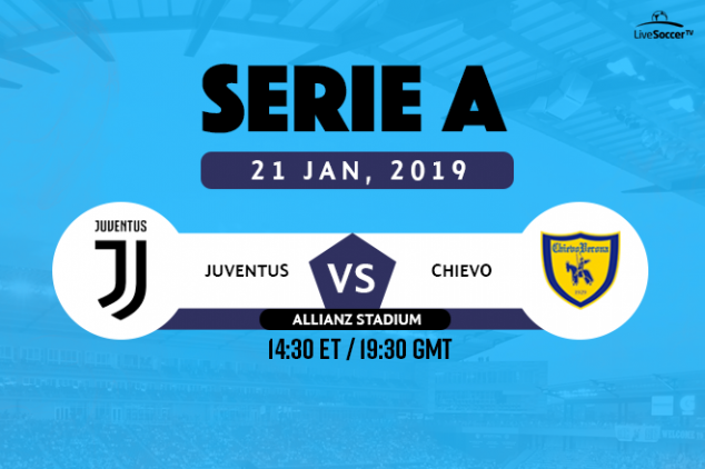 Juventus vs Chievo viewing info