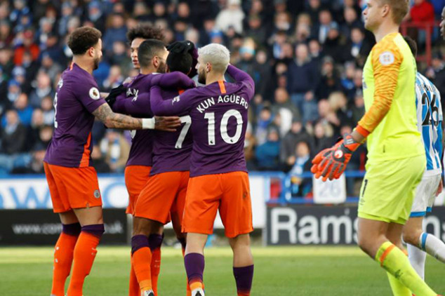 Top six stats from EPL round 23