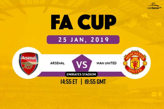 Arsenal vs Manchester United broadcast information