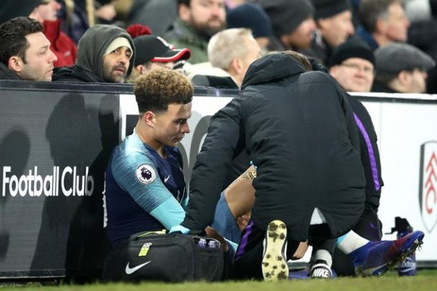 Spur's top-four hopes threatened after Alli injury
