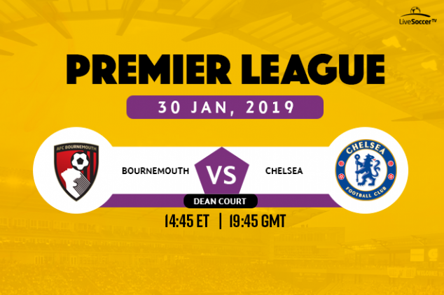 Bournemouth vs Chelsea viewing info