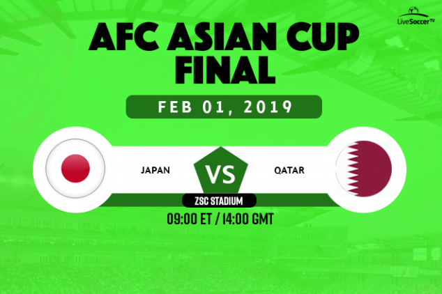Where to watch the 2019 Asian Cup final