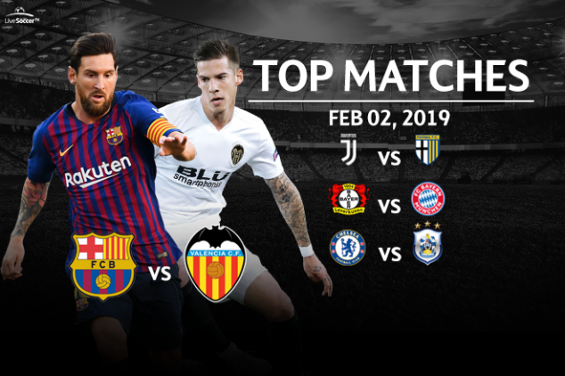 Top matches to watch on Feb. 02, 2019