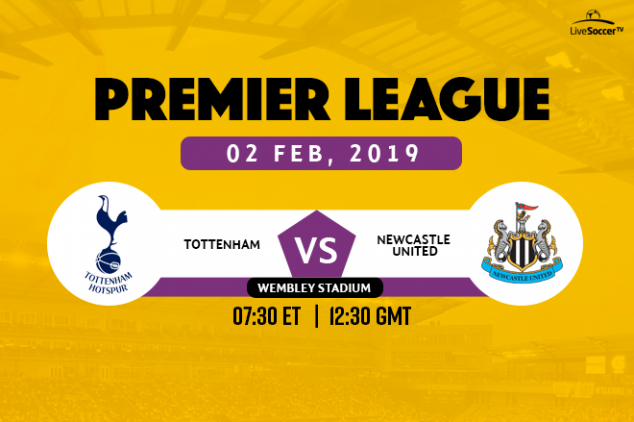 Tottenham vs Newcastle broadcast information