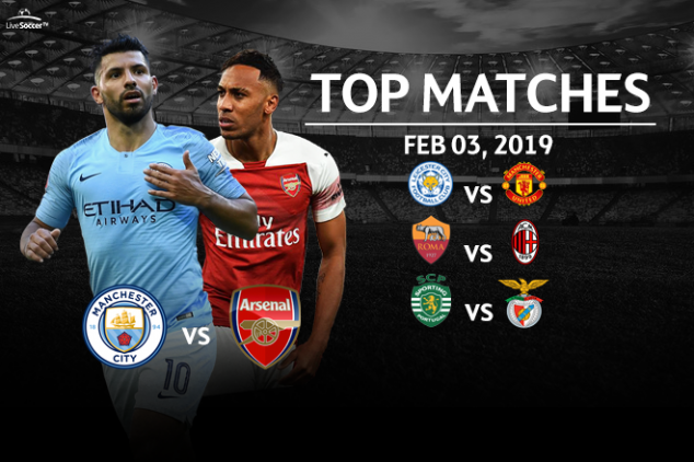Top matches to watch on Feb. 03, 2019