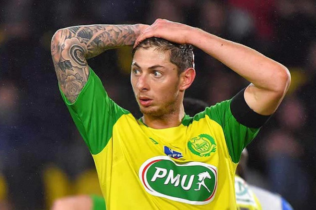 Nantes set to file lawsuit vs Cardiff over Sala