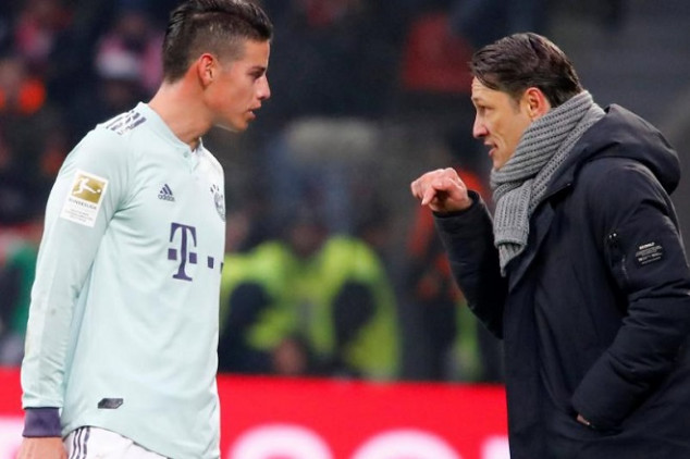 James hints at Bayern exit this summer