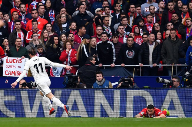 Bale scores 100th goal for Real Madrid