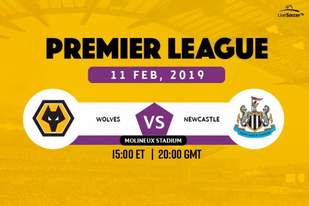 Where to watch Wolves vs Newcastle