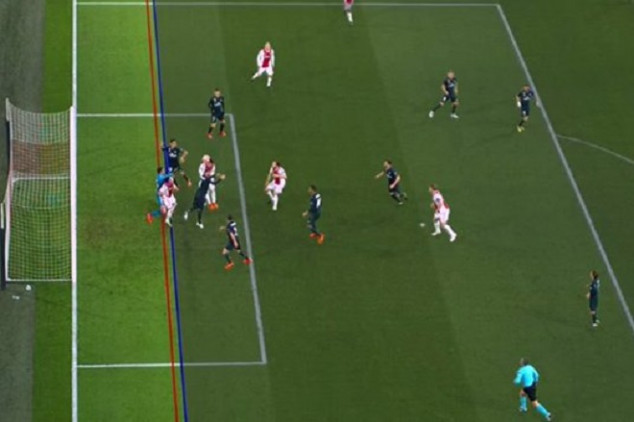 VAR disallows first goal in UEFA CL history