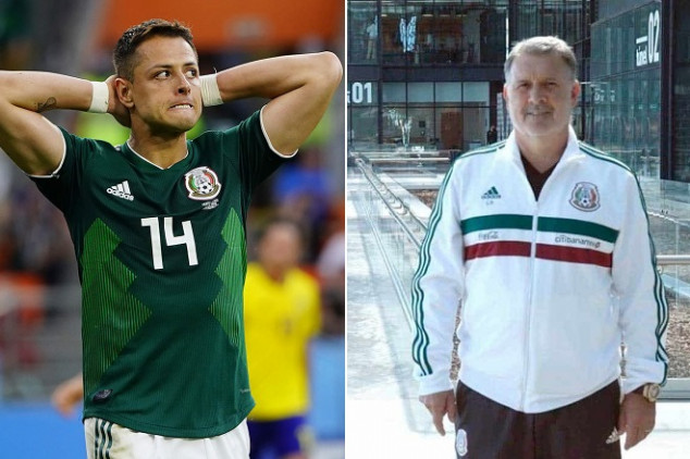 Chicharito may have played final game with Mexico
