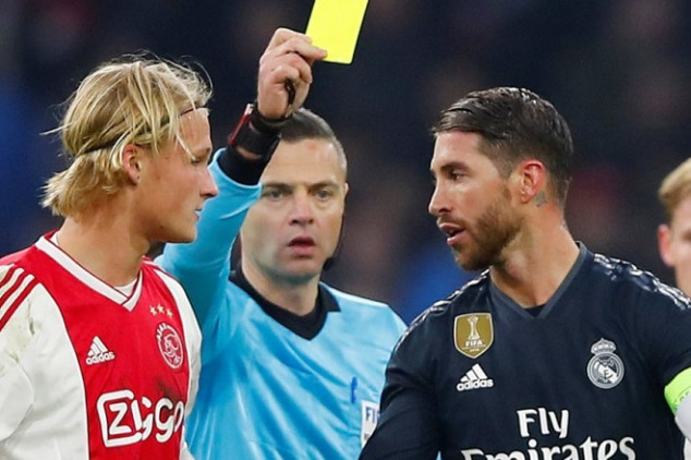 Ramos faces lengthier ban on yellow card statement