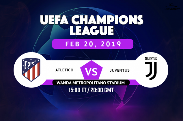 Atletico Madrid vs Juventus broadcast listings