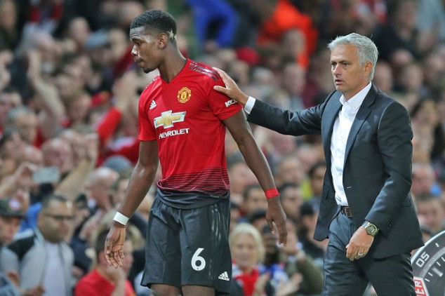 Why Mou chose to make his feud with Pogba public