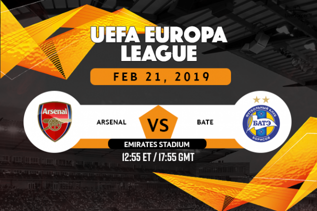 Where to watch Arsenal vs BATE