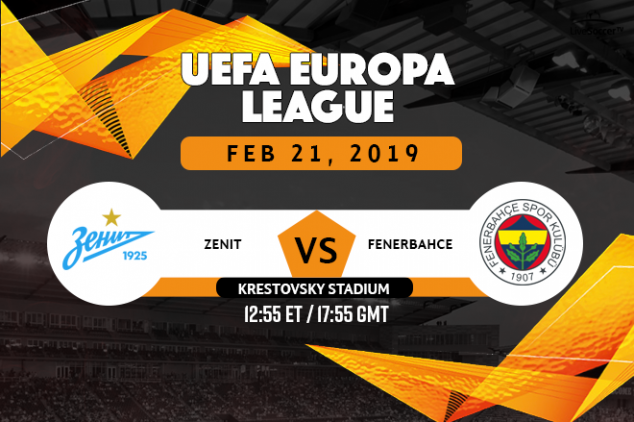 Zenith vs Fenerbahçe broadcast listings