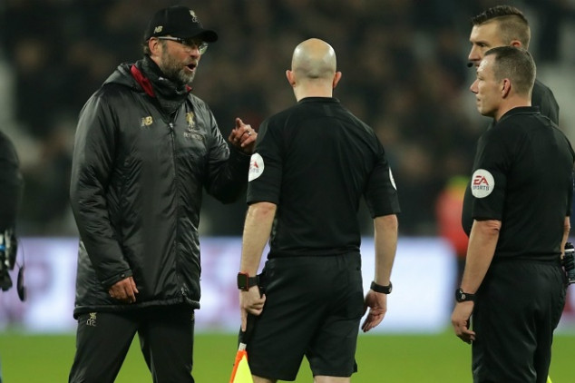 Klopp slapped with hefty fine over comments vs ref