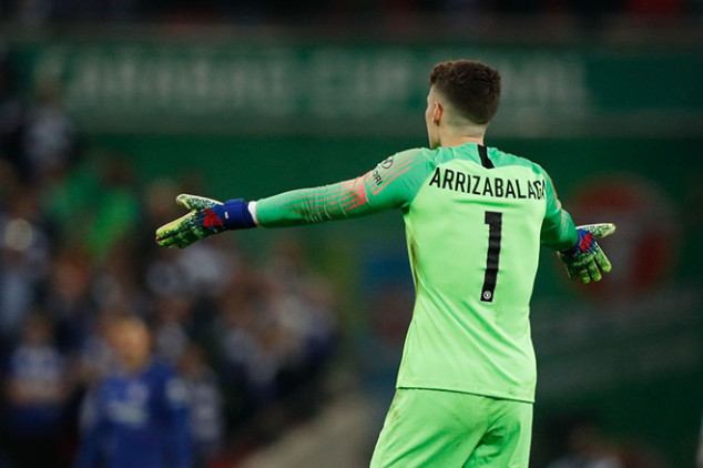 Kepa issues apology after being fined