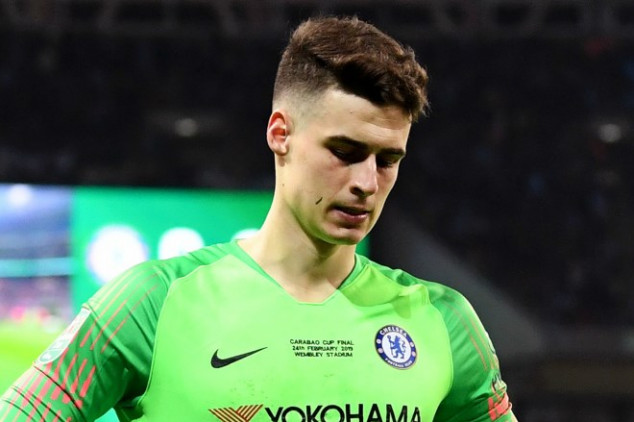 Sarri benches Kepa for Spurs clash