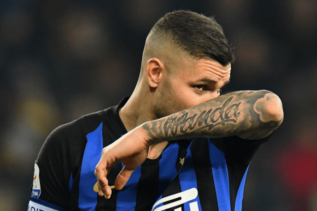Icardi sends tearful post to Inter fans