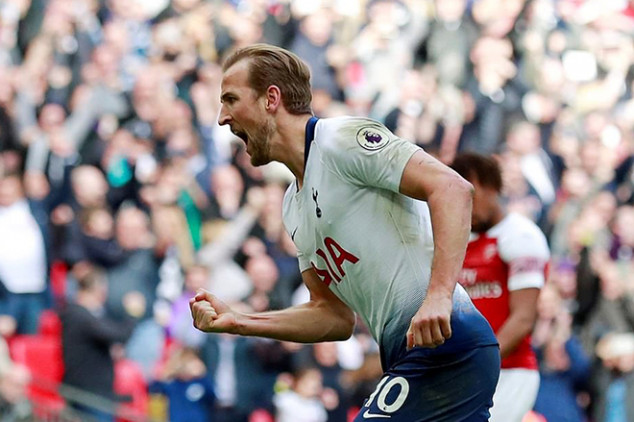 Kane makes history with controversial derby goal