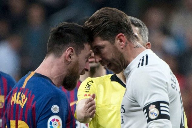 Pique slams Sergio Ramos for Lionel Messi bust-up