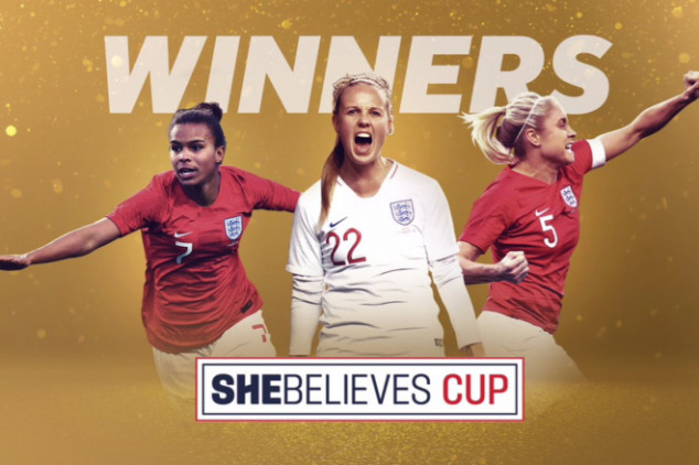 England win SheBelieves Cup, USWNT beat Brazil
