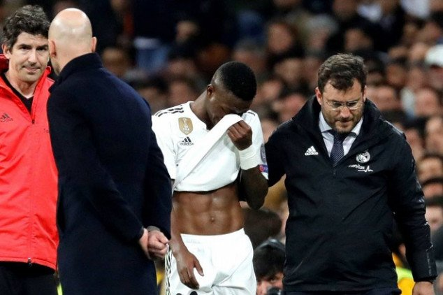Real Madrid handed injury blow after UCL exit