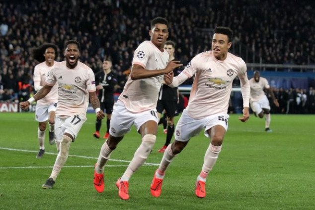 Man Utd makes UCL history with PSG win