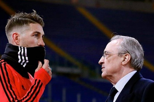 Ramos and Pérez in heated bust-up after UCL loss