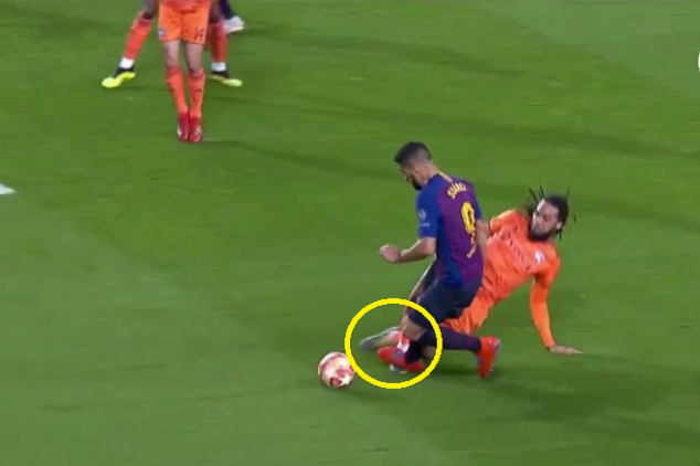VAR questioned after Barca's controversial penalty