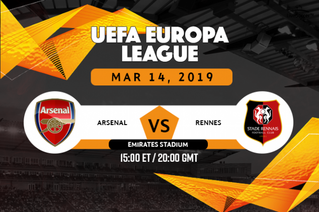 Where to watch Arsenal vs Rennes