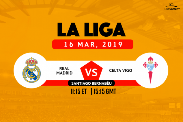 Real Madrid vs Celta broadcast info