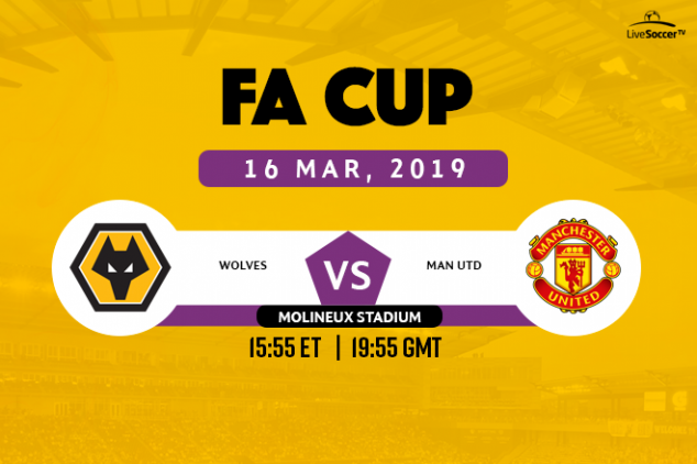 Wolves vs Manchester United broadcast information