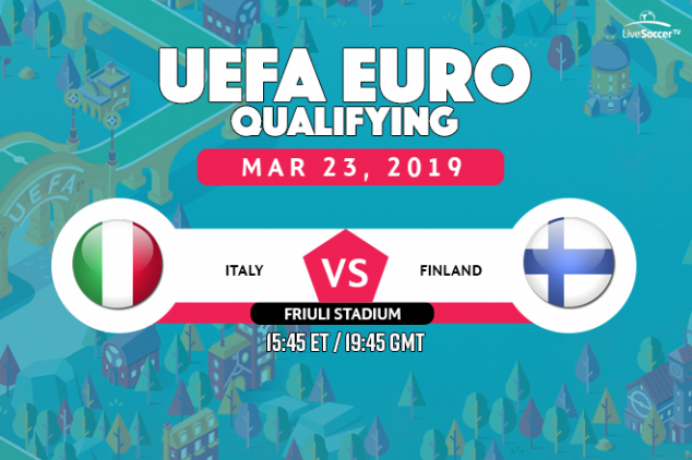 Italy vs Finland viewing info