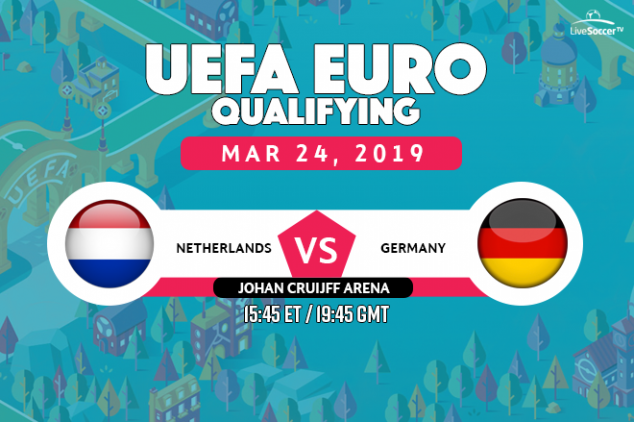 Netherlands vs Germany viewing info