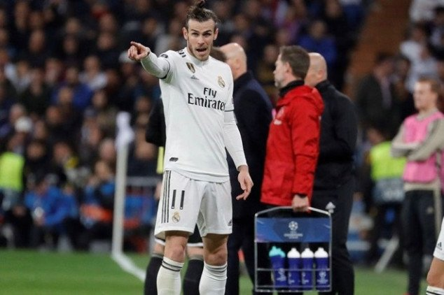 Bale names best footballer he's played with