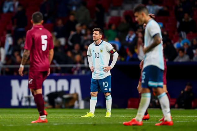 Messi injured for Morocco clash