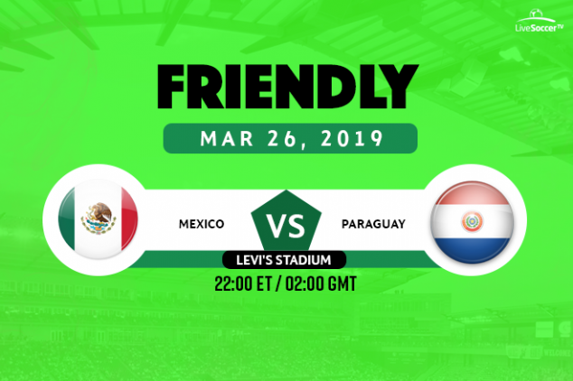Mexico vs Paraguay broadcast info