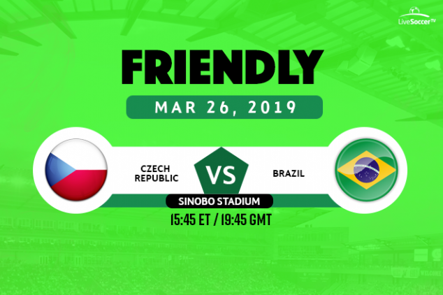 Czech Republic vs Brazil broadcast information