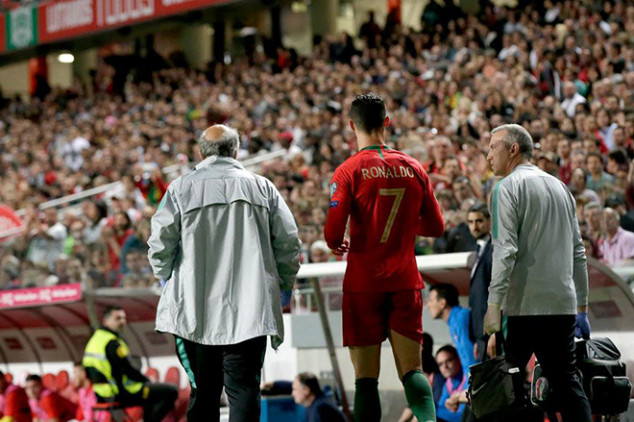 Cristiano offers update on his injury