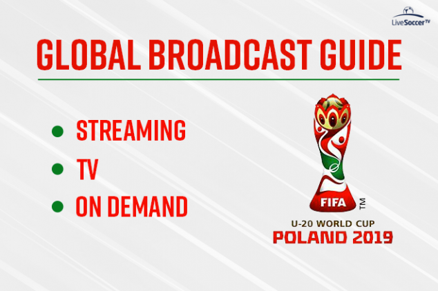 Broadcast guide for the 2019 FIFA U-20 World Cup
