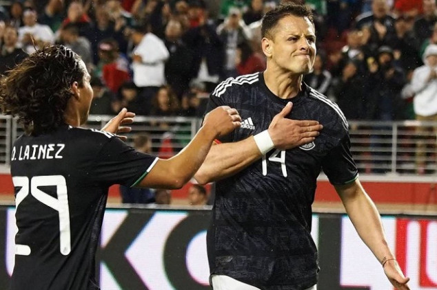 Chicharito slams Twitter troll after goal with MEX