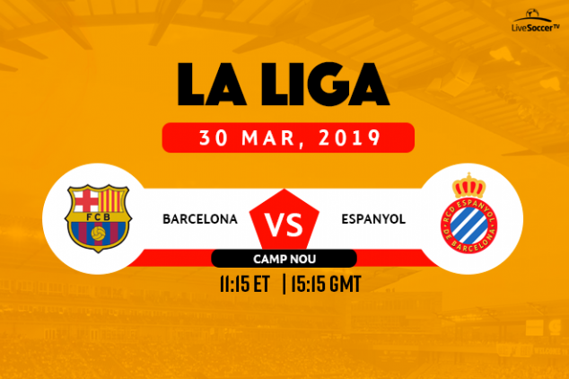 Catalan Derby broadcast info