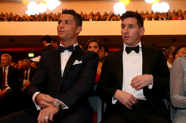 Messi names CR7 above Top 5 football players